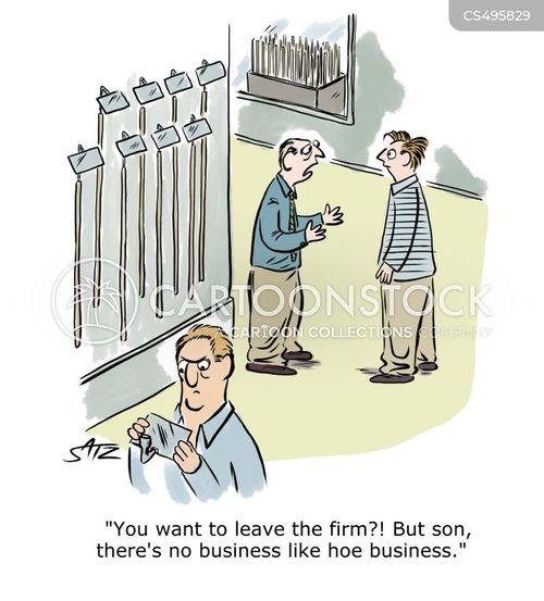 show businesses cartoon