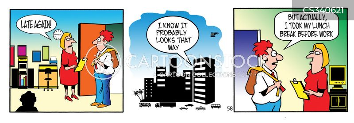 employee discipline cartoon