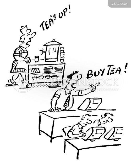 tea-lady cartoon
