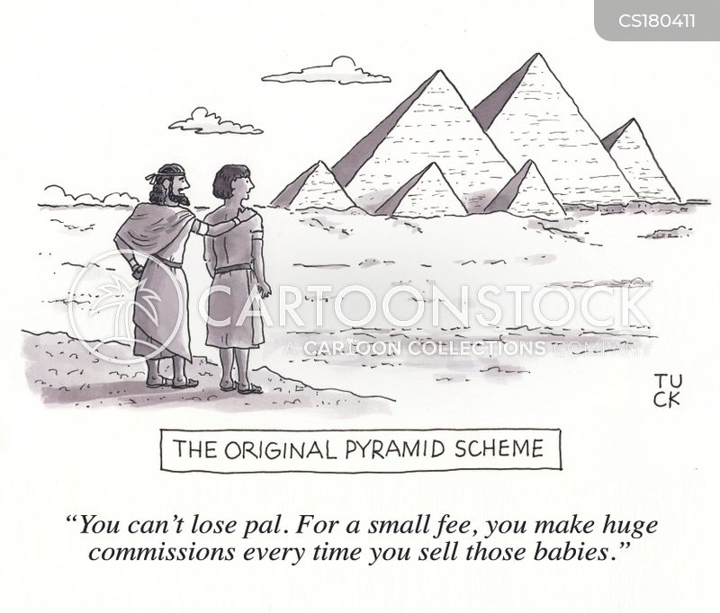 egyptian pyramids cartoon