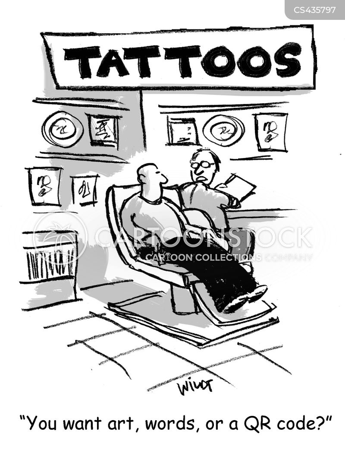 barcodes cartoon