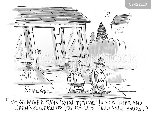 billable hour cartoon