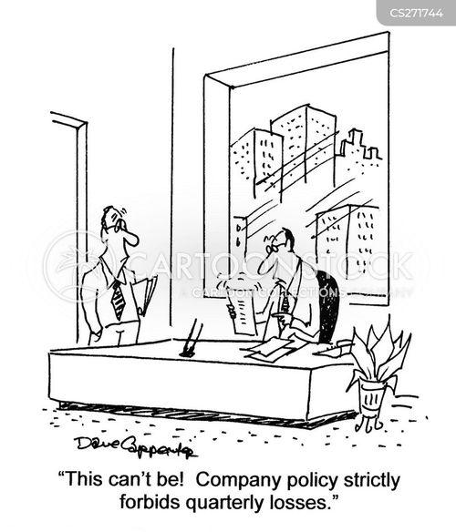 company policies cartoon