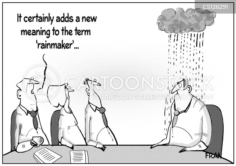 business activities cartoon