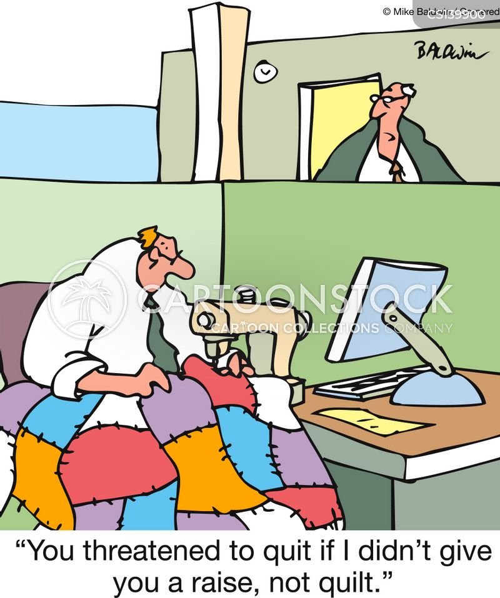 quilter cartoon