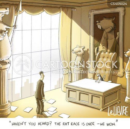 rat races cartoon