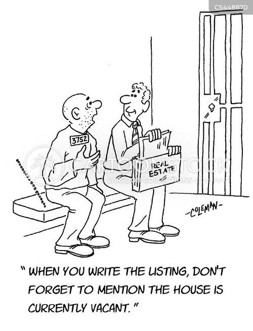 real estate brokers cartoon