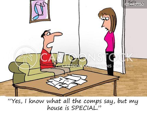 housing prices cartoon