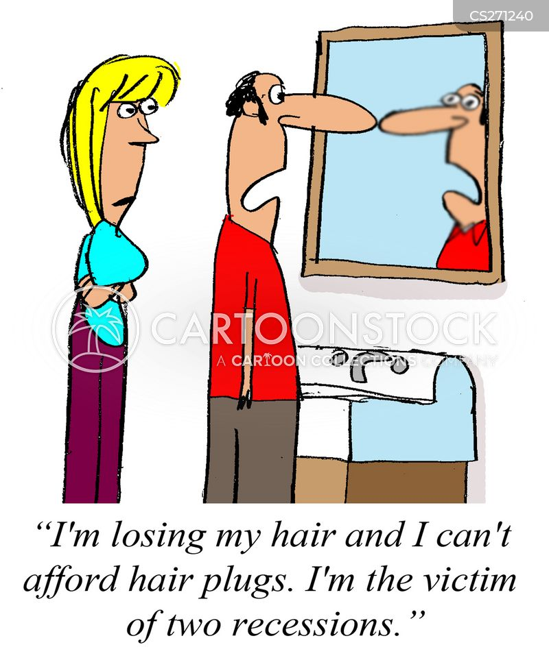 hairlines cartoon