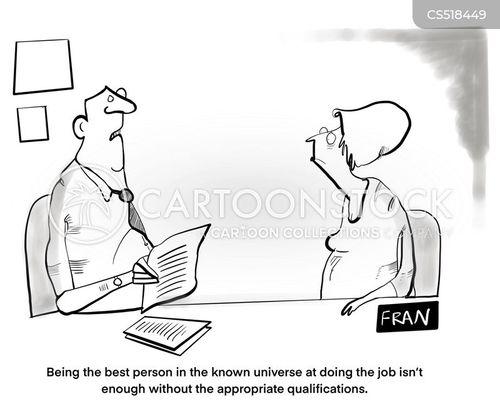 job spec cartoon