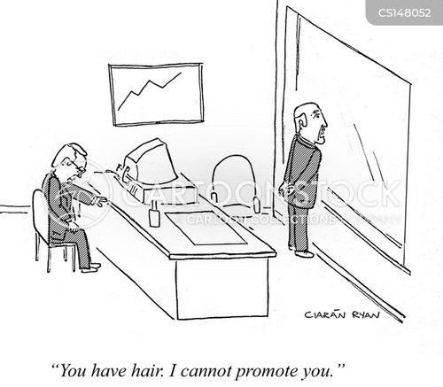career progression cartoon