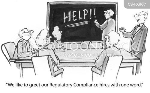 regulatory cartoon