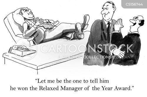calmness cartoon