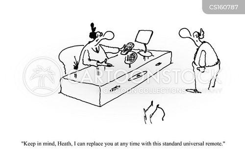 universal remote cartoon
