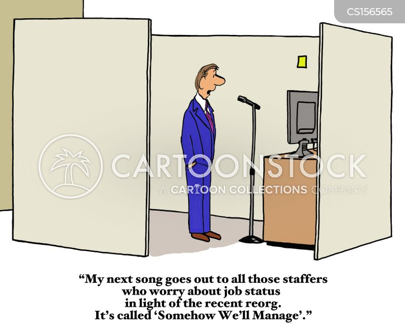 reorganization cartoon
