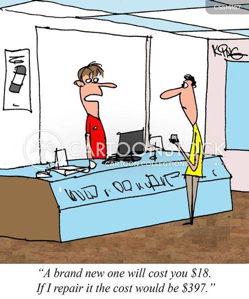 consumer capitalism cartoon