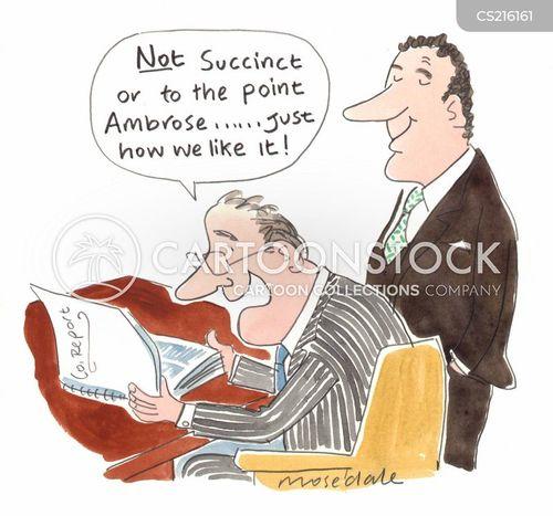 concise cartoon
