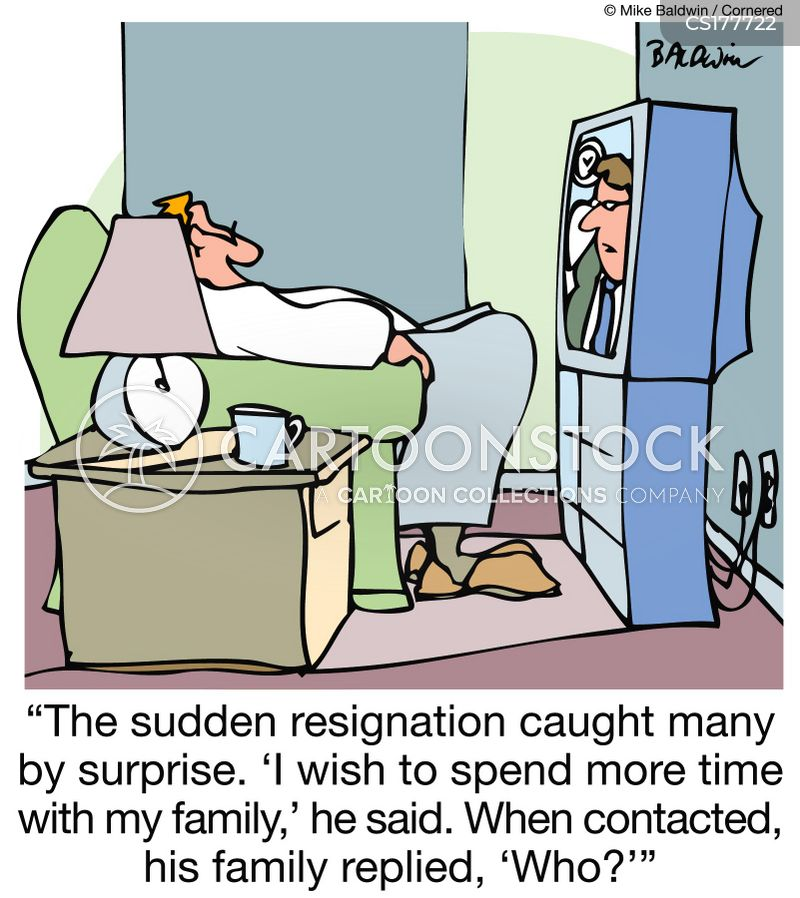 Resigning Cartoons And Comics  Funny Pictures From Cartoonstock