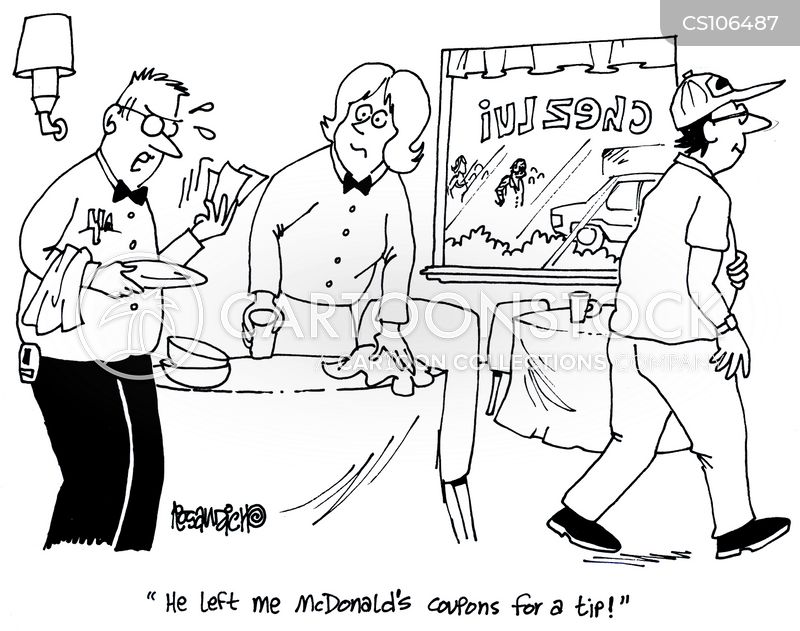 Funny Fast Food Cartoons Fast Food Chain Cartoon 1 of 7