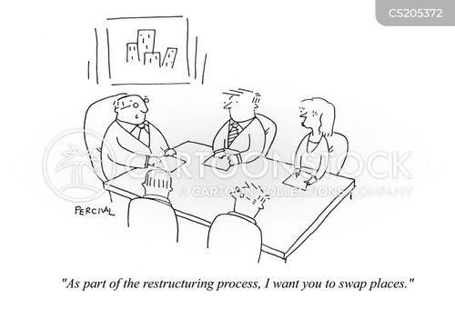 organizations cartoon