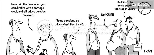 retirement fund cartoon