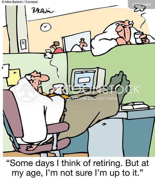 retired auf deutsch