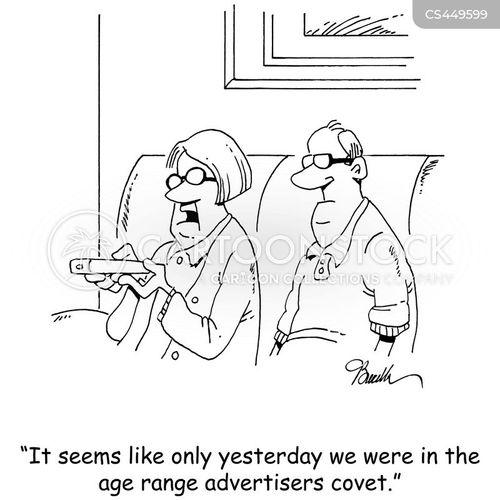 mass consumption cartoon
