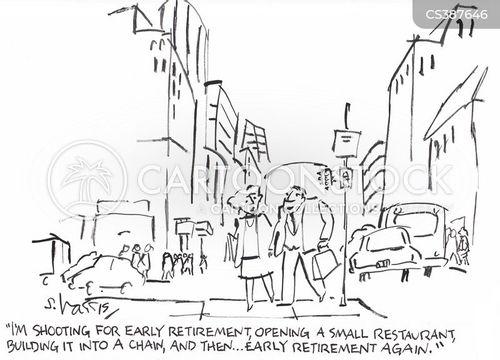 chain restaurant cartoon