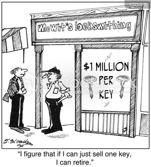 overprice cartoon