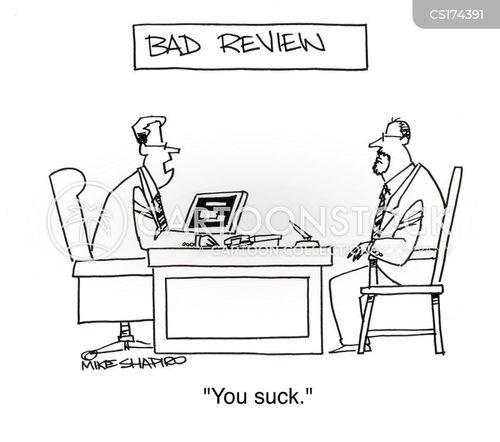 bad review cartoon