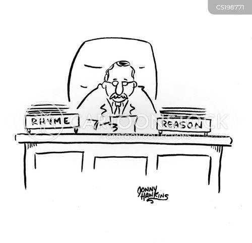 no rhyme or reason cartoon