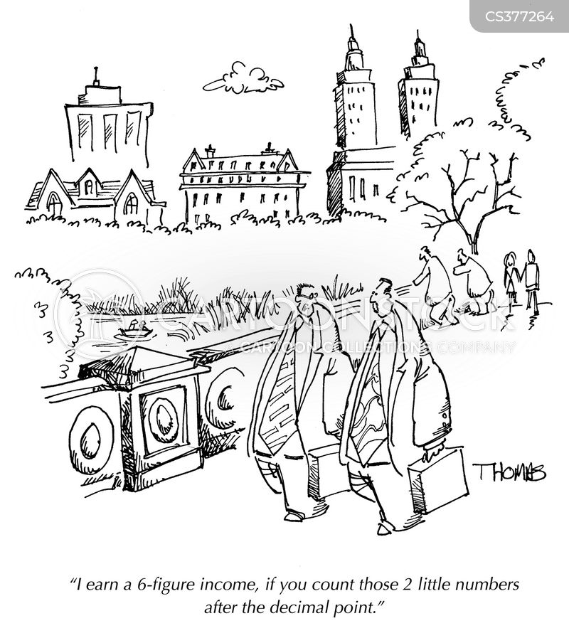 high earner cartoon
