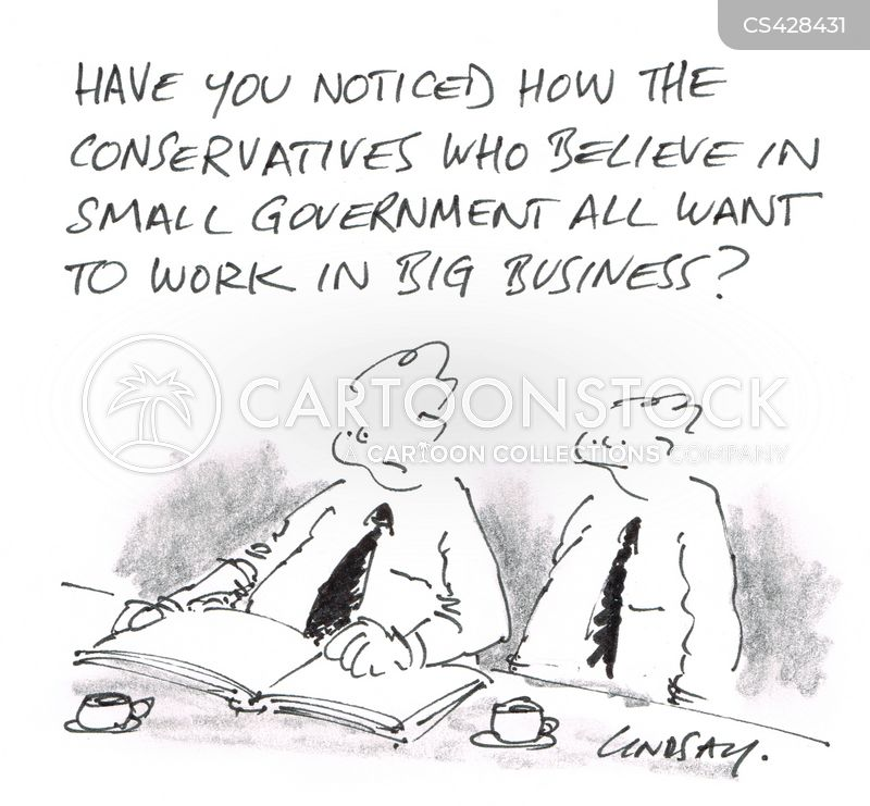 big governments cartoon