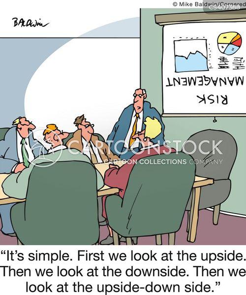 risk manager cartoon