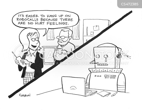 human touch cartoon