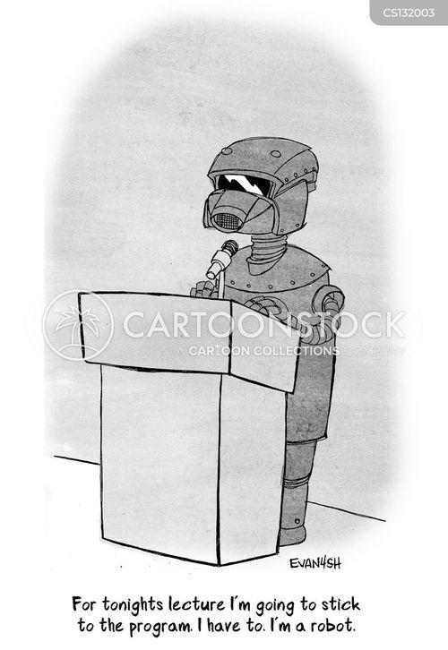 programming cartoon