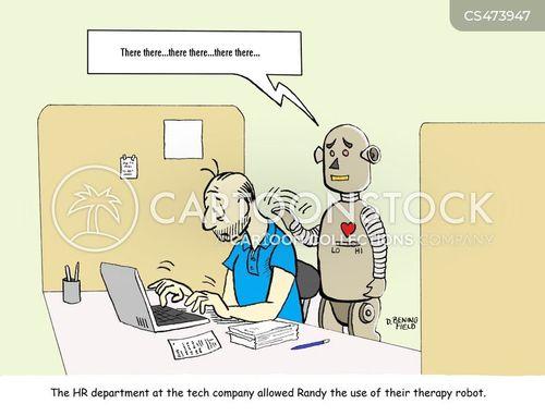 therapy animals cartoon