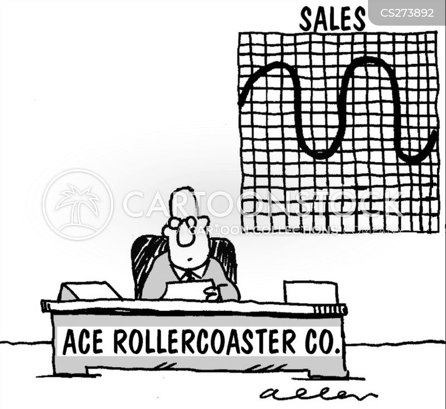 roller coaster ride cartoon