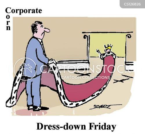 royal robes cartoon