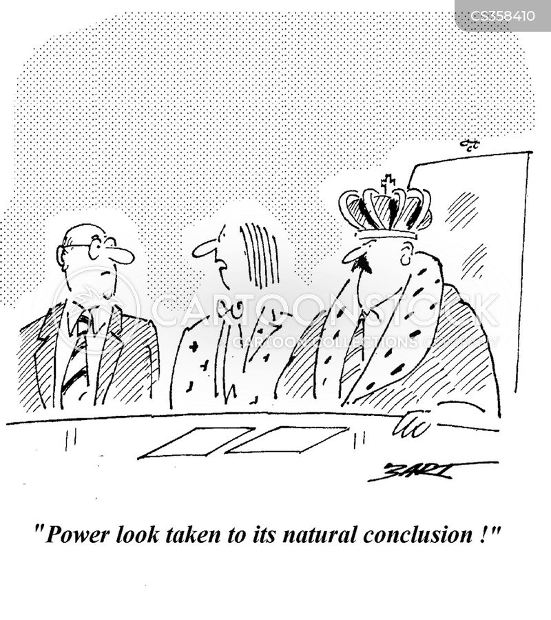 power dressing cartoon