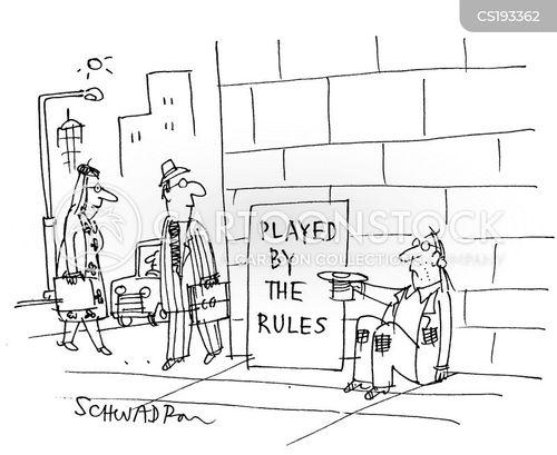 rule breaker cartoon