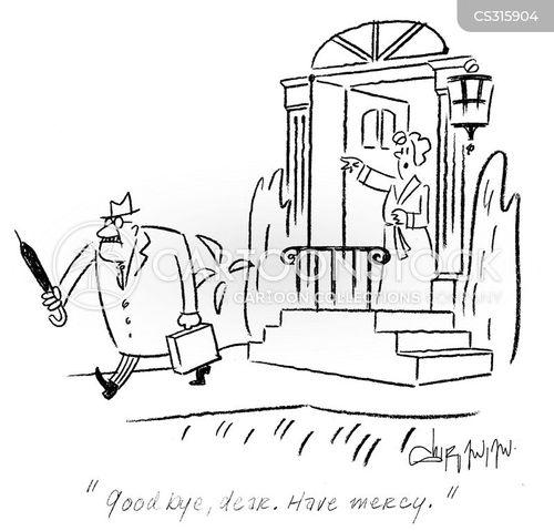 morning commutes cartoon