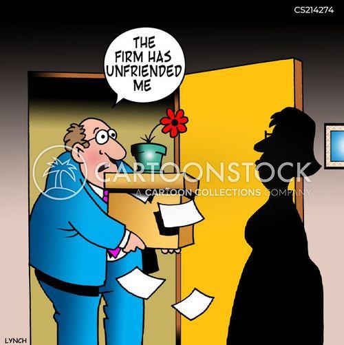 unfriend cartoon