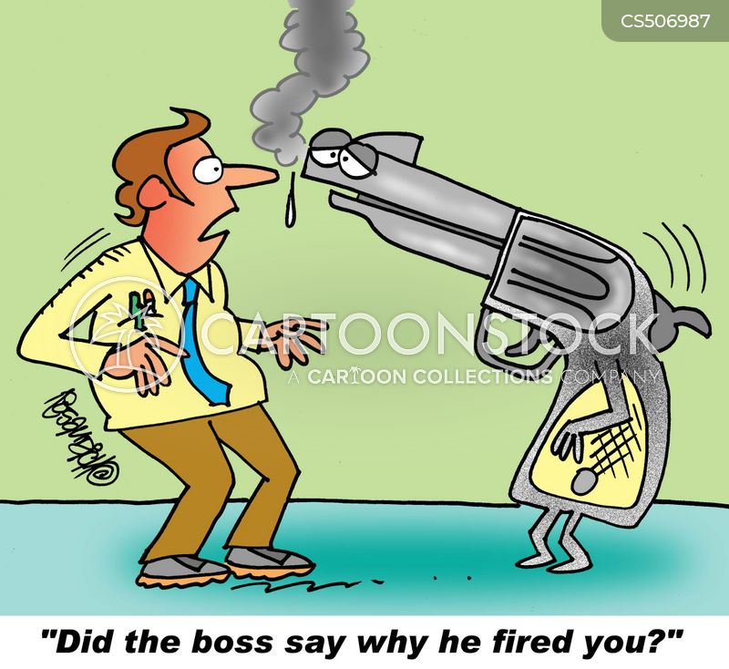 firing offenses cartoon