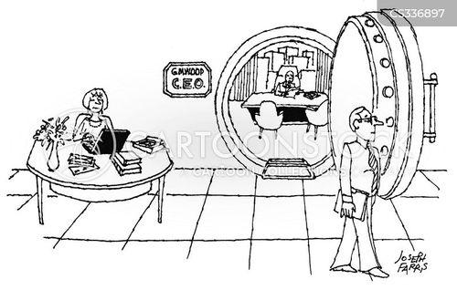vaults cartoon