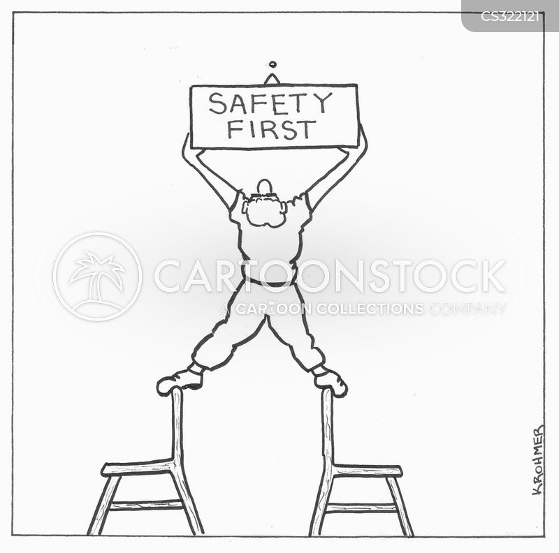 Safety First Cartoons and Comics - funny pictures from ...