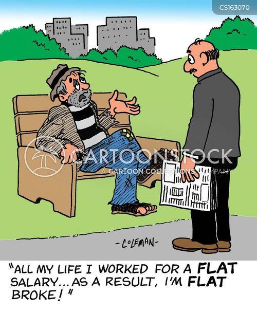 hourly wage cartoon