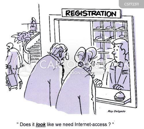 wireless cartoon