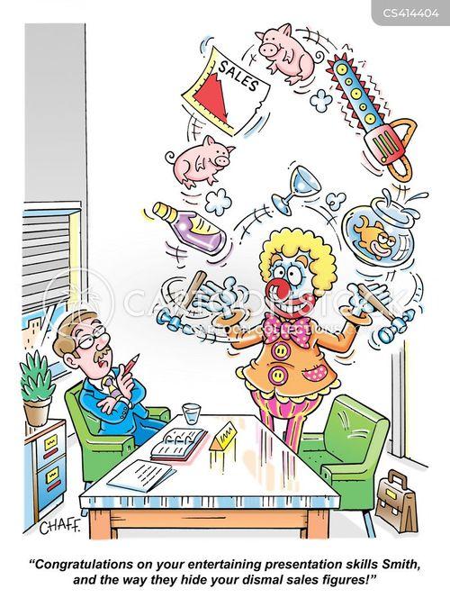 juggled cartoon