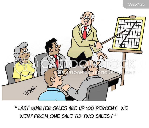 sales meeting cartoon